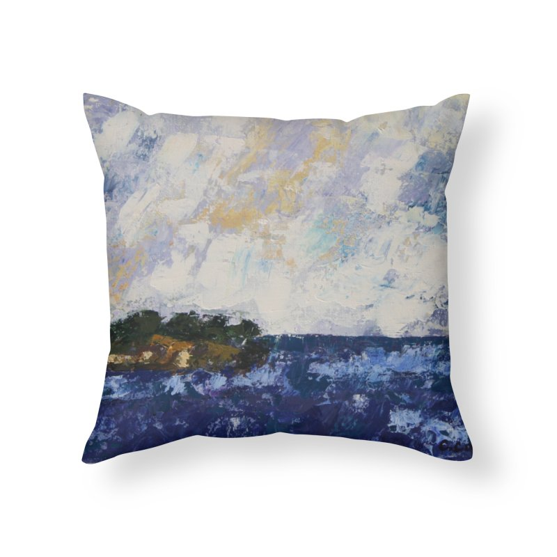 Dauntless Home Throw Pillow by C. Cooley's Artist Shop