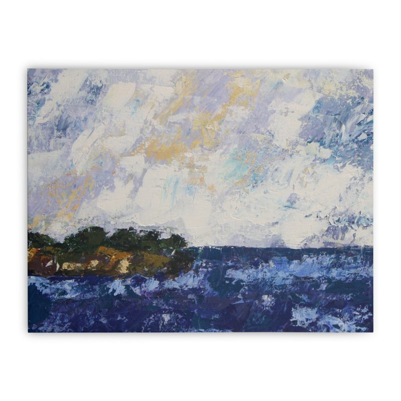 Dauntless Home Stretched Canvas by C. Cooley's Artist Shop