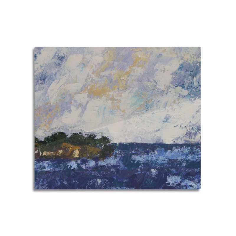 Dauntless Home Mounted Aluminum Print by C. Cooley's Artist Shop