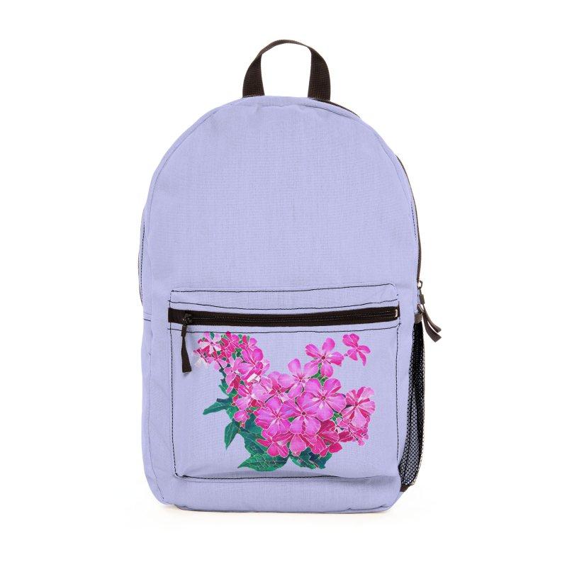Garden Pink Accessories Bag by C. Cooley's Artist Shop