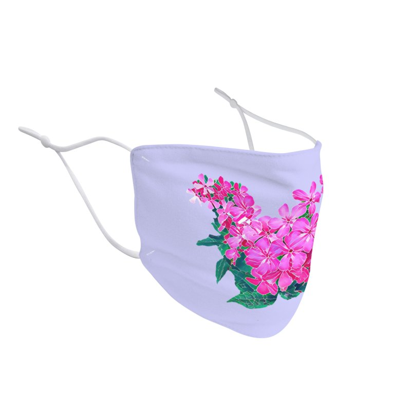 Garden Pink Accessories Face Mask by C. Cooley's Artist Shop