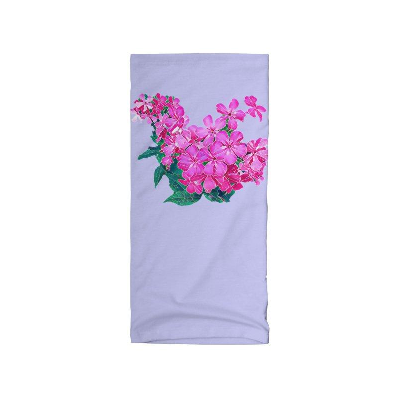 Garden Pink Accessories Neck Gaiter by C. Cooley's Artist Shop