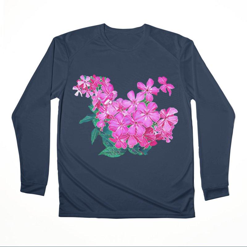 Garden Pink Women's Longsleeve T-Shirt by C. Cooley's Artist Shop