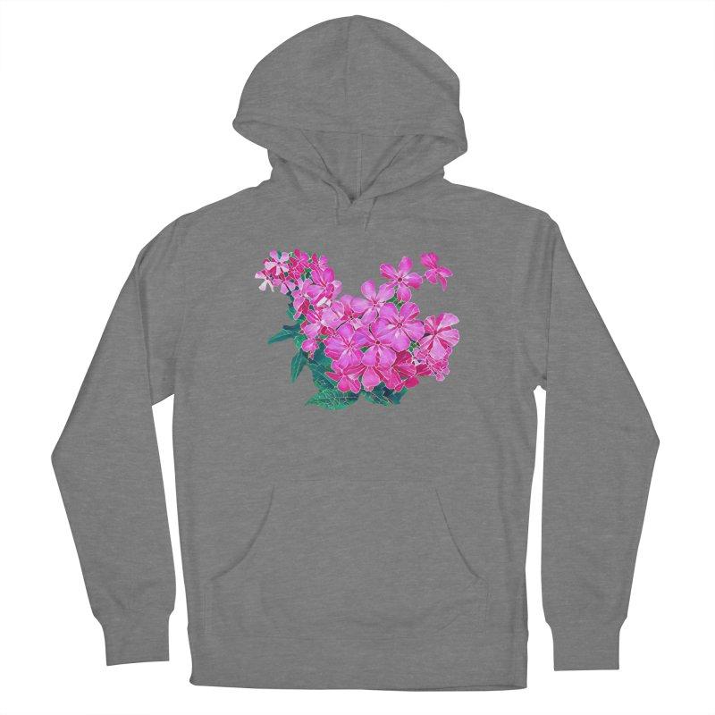Garden Pink Men's Pullover Hoody by C. Cooley's Artist Shop