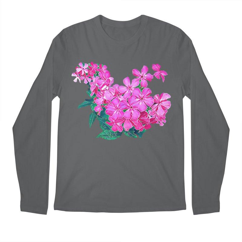 Garden Pink Men's Longsleeve T-Shirt by C. Cooley's Artist Shop