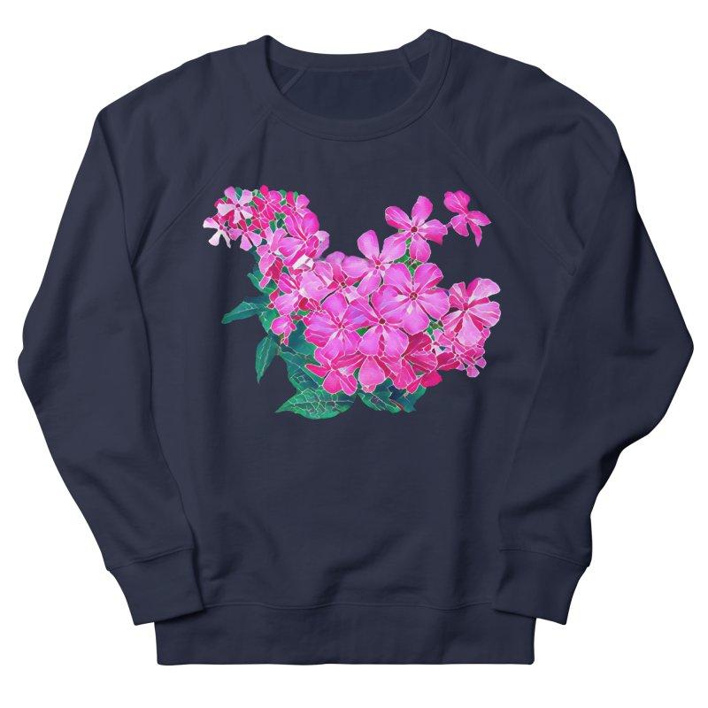 Garden Pink Men's Sweatshirt by C. Cooley's Artist Shop