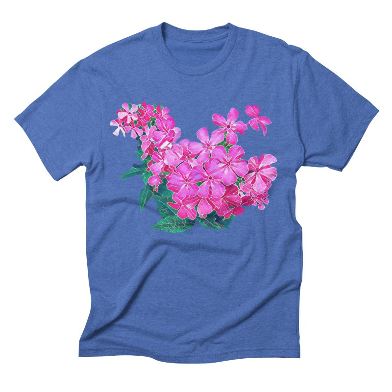 Garden Pink Men's T-Shirt by C. Cooley's Artist Shop