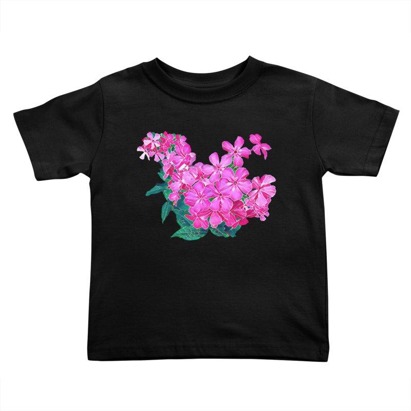 Garden Pink Kids Toddler T-Shirt by C. Cooley's Artist Shop