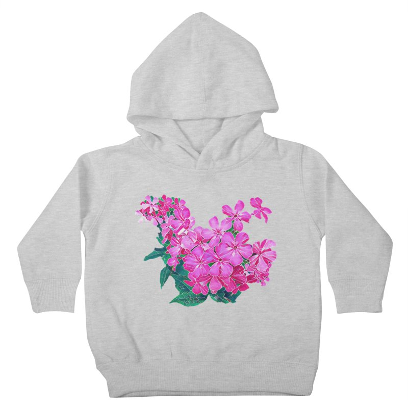 Garden Pink Kids Toddler Pullover Hoody by C. Cooley's Artist Shop