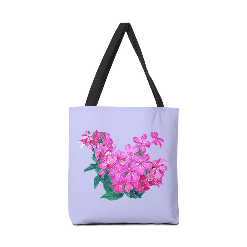 Garden Pink Accessories Bag by C. Cooley's Artist Shop