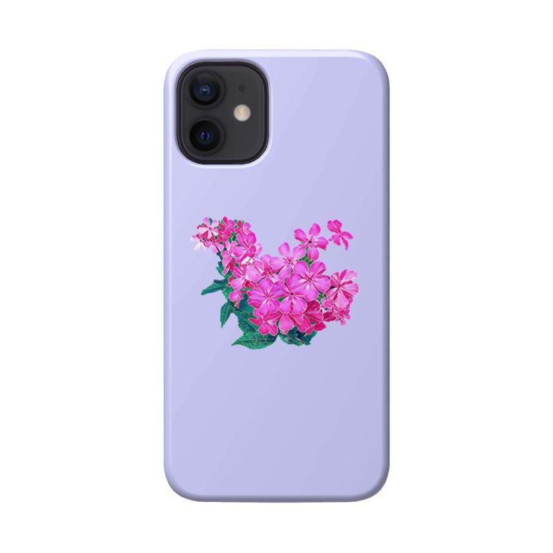 Garden Pink Accessories Phone Case by C. Cooley's Artist Shop