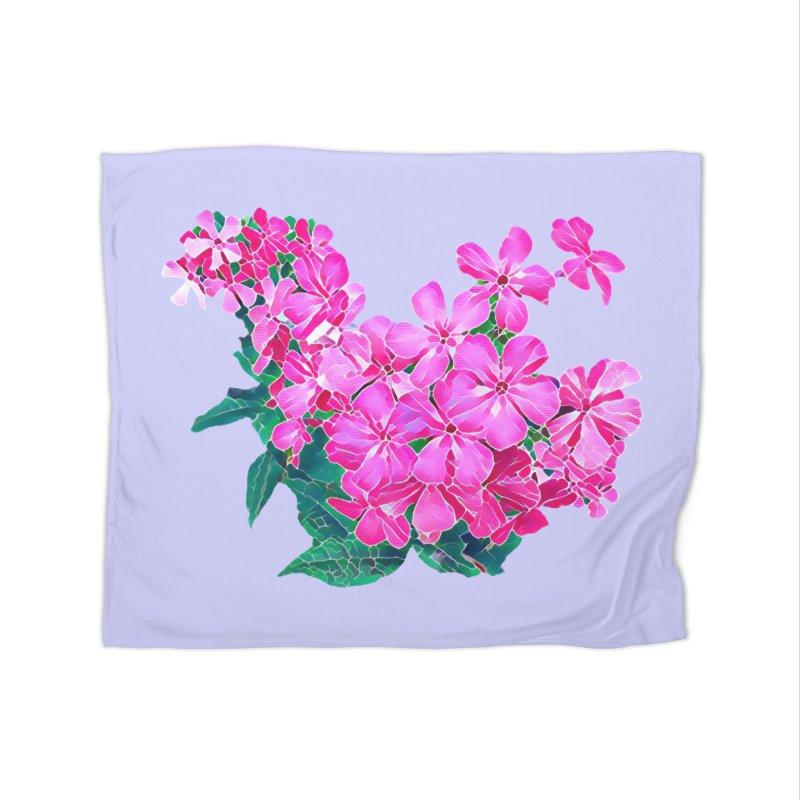 Garden Pink Home Blanket by C. Cooley's Artist Shop