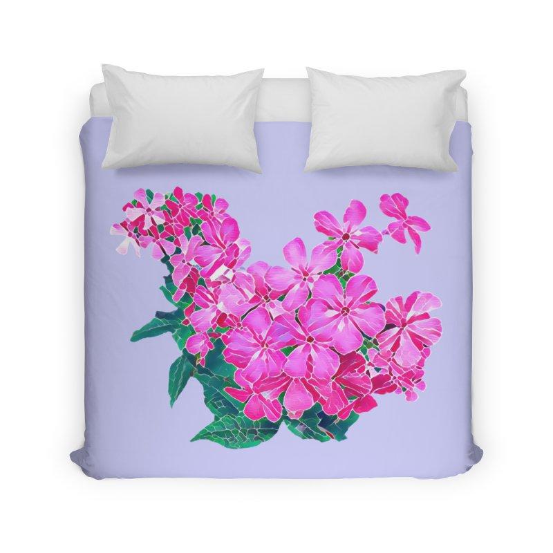 Garden Pink Home Duvet by C. Cooley's Artist Shop