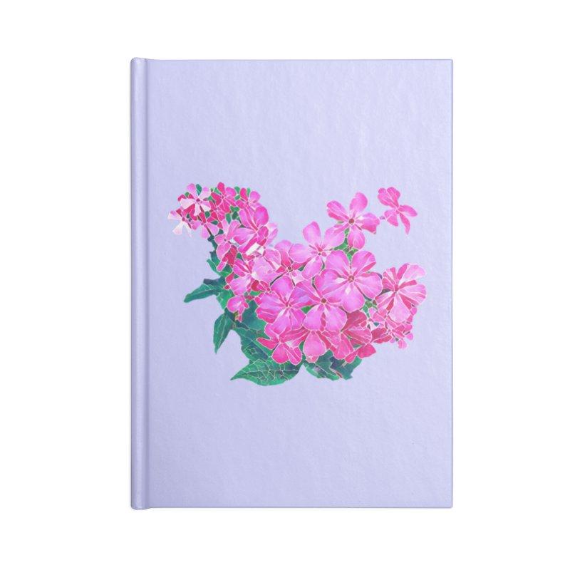 Garden Pink Accessories Notebook by C. Cooley's Artist Shop