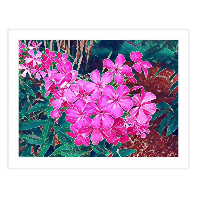Garden Pink Home Fine Art Print by C. Cooley's Artist Shop