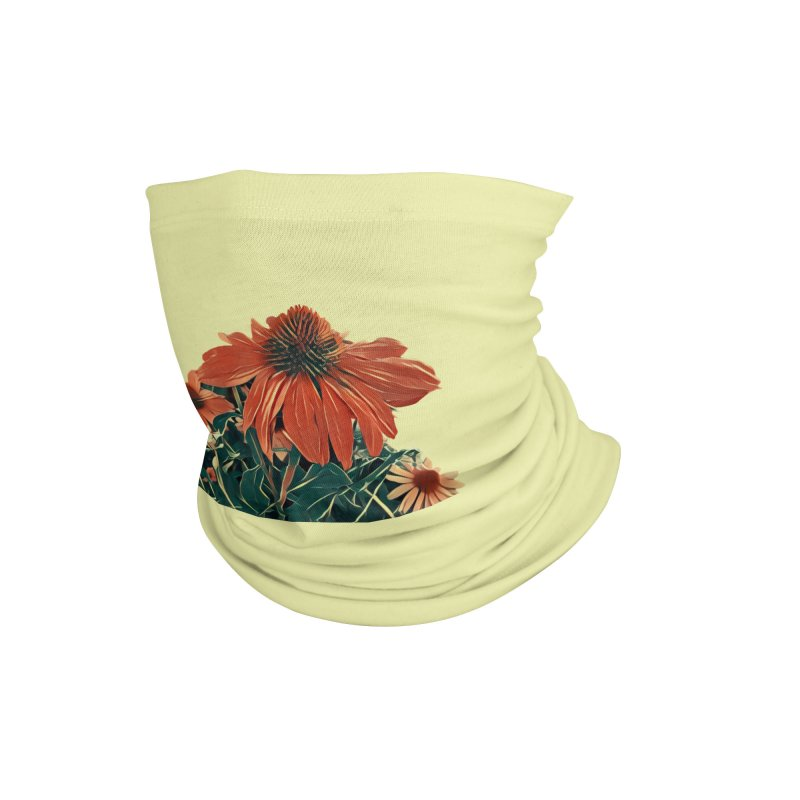 Dreamy Coneflowers Accessories Neck Gaiter by C. Cooley's Artist Shop