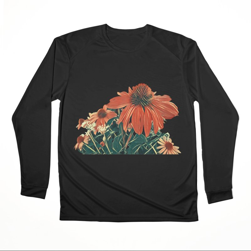 Dreamy Coneflowers Women's Longsleeve T-Shirt by C. Cooley's Artist Shop