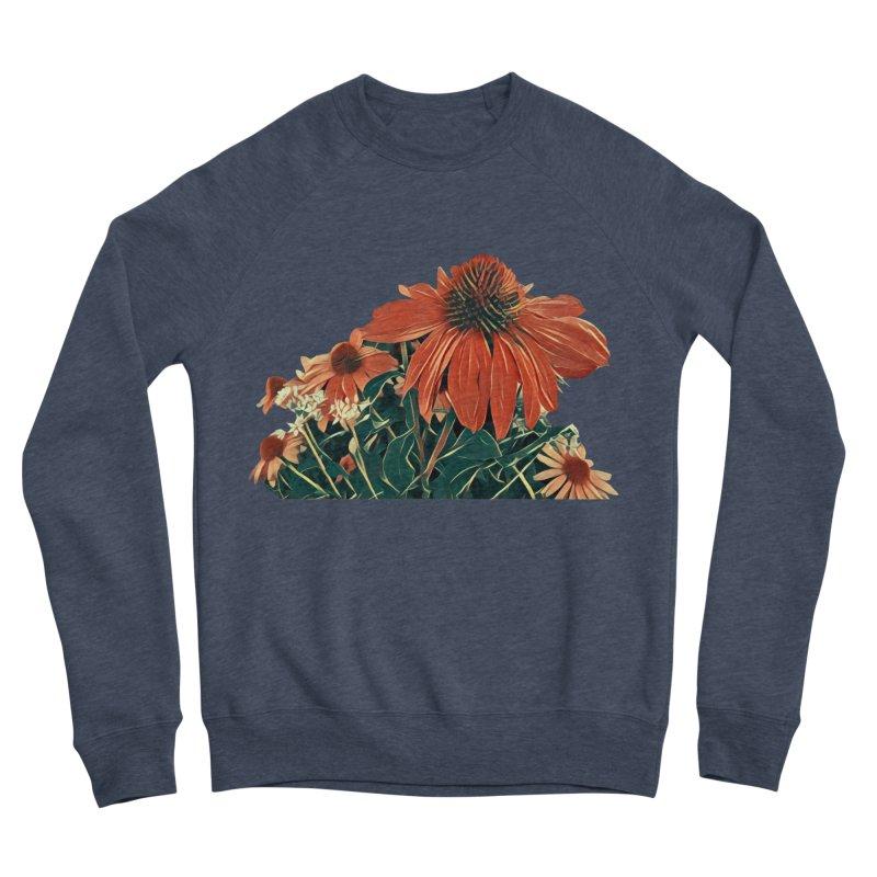Dreamy Coneflowers Men's Sweatshirt by C. Cooley's Artist Shop