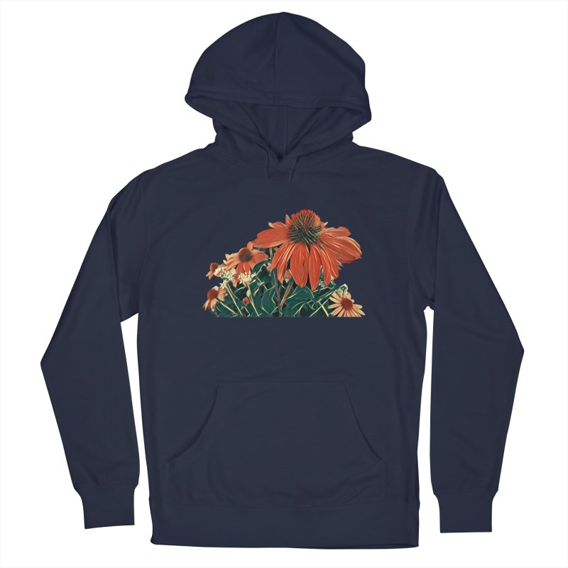 Dreamy Coneflowers Men's Pullover Hoody by C. Cooley's Artist Shop