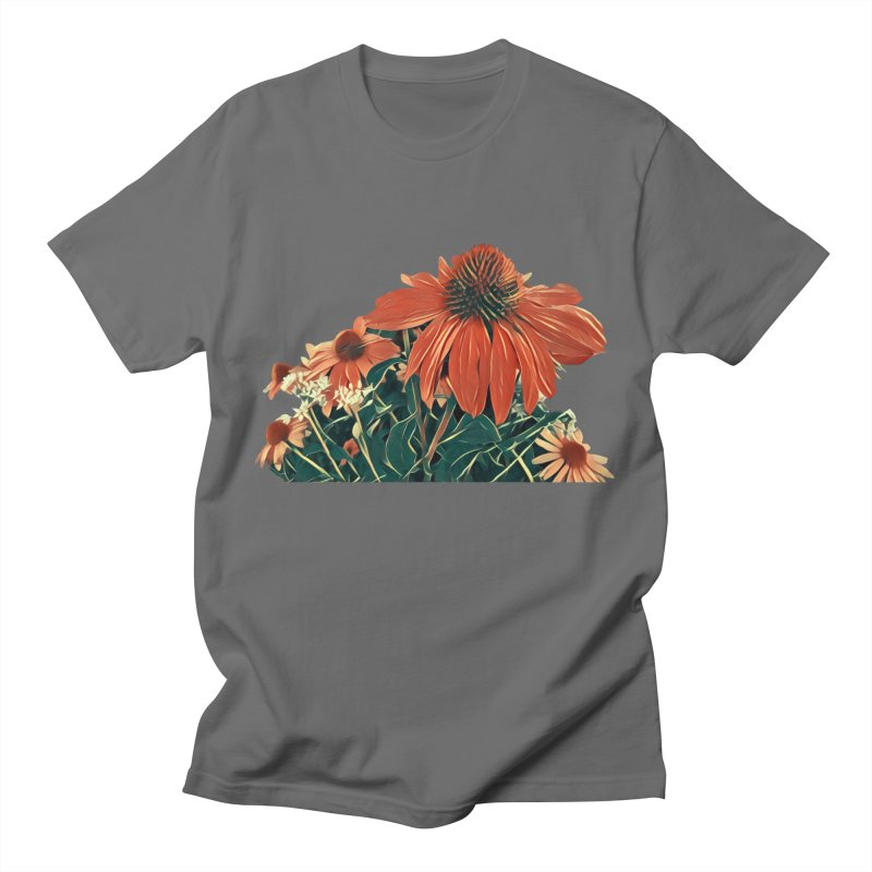 Dreamy Coneflowers Men's T-Shirt by C. Cooley's Artist Shop