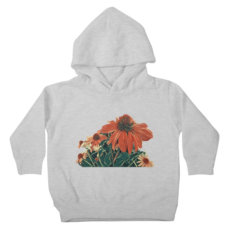 Dreamy Coneflowers Kids Toddler Pullover Hoody by C. Cooley's Artist Shop