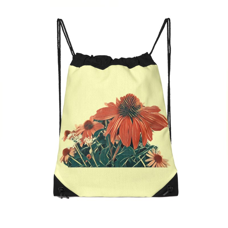 Dreamy Coneflowers Accessories Bag by C. Cooley's Artist Shop