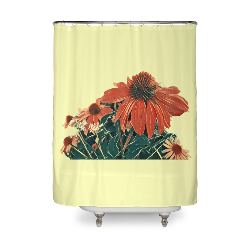 Dreamy Coneflowers Home Shower Curtain by C. Cooley's Artist Shop