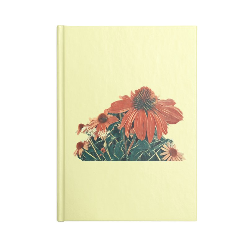 Dreamy Coneflowers Accessories Notebook by C. Cooley's Artist Shop