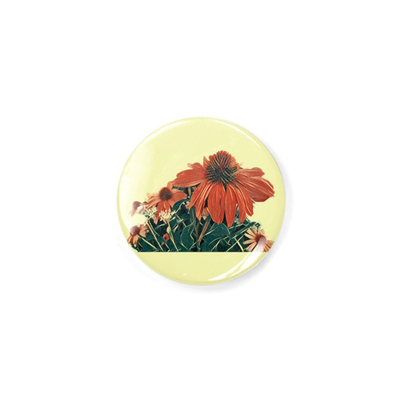 Dreamy Coneflowers Accessories Button by C. Cooley's Artist Shop