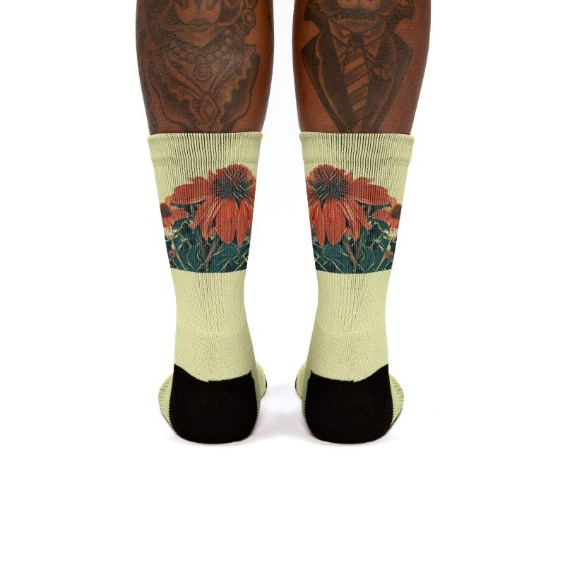 Dreamy Coneflowers Women's Socks by C. Cooley's Artist Shop