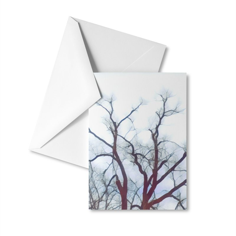 Reaching Accessories Greeting Card by C. Cooley's Artist Shop