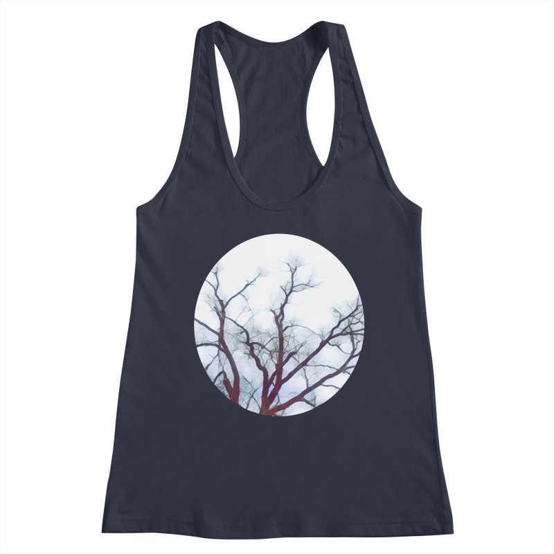 Reaching Women's Tank by C. Cooley's Artist Shop
