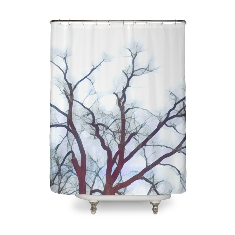 Reaching Home Shower Curtain by C. Cooley's Artist Shop