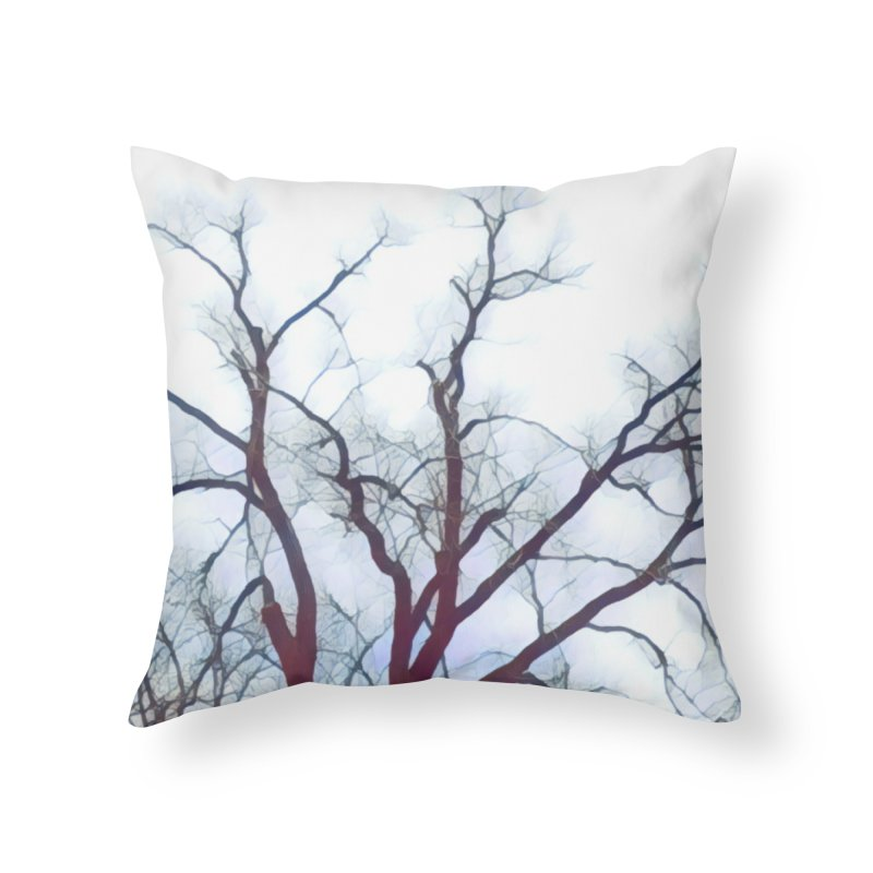 Reaching Home Throw Pillow by C. Cooley's Artist Shop