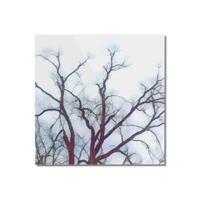 Reaching Home Mounted Acrylic Print by C. Cooley's Artist Shop