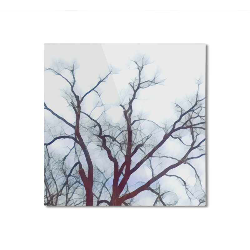 Reaching Home Mounted Aluminum Print by C. Cooley's Artist Shop