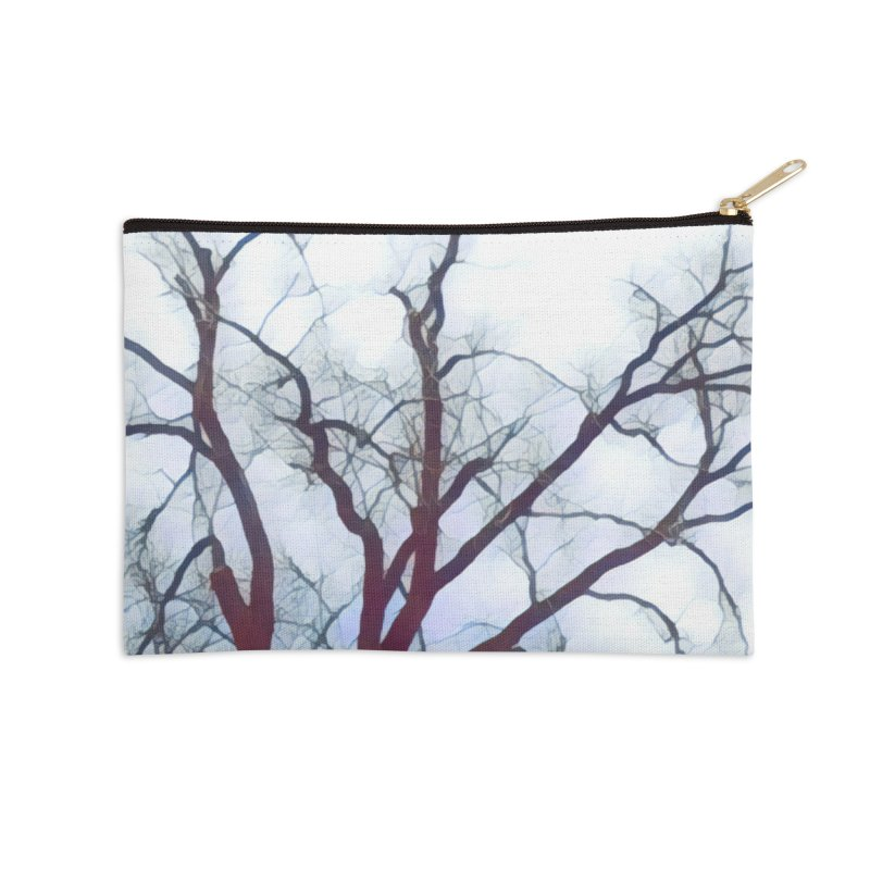 Reaching Accessories Zip Pouch by C. Cooley's Artist Shop