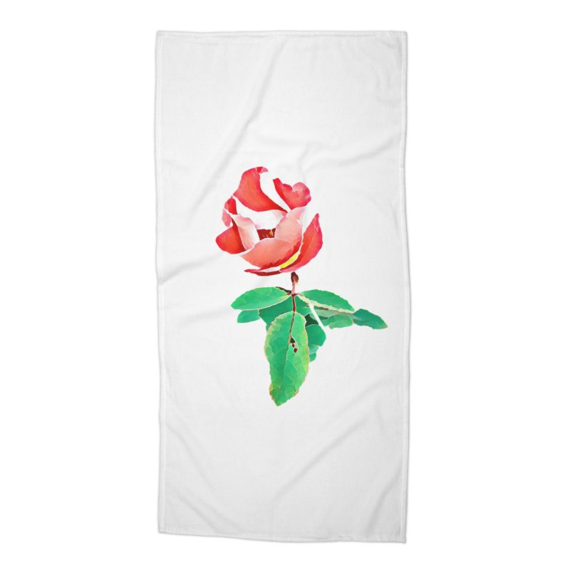 Bloom Accessories Beach Towel by C. Cooley's Artist Shop