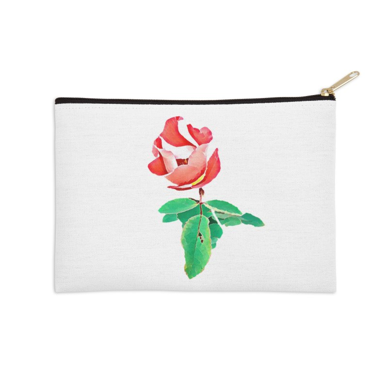 Bloom Accessories Zip Pouch by C. Cooley's Artist Shop