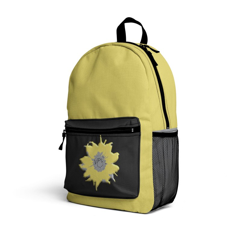 Sunflower Spill Accessories Bag by C. Cooley's Artist Shop