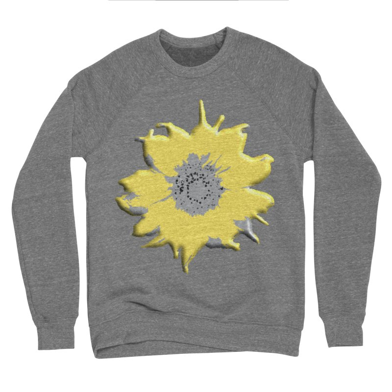 Sunflower Spill Men's Sweatshirt by C. Cooley's Artist Shop