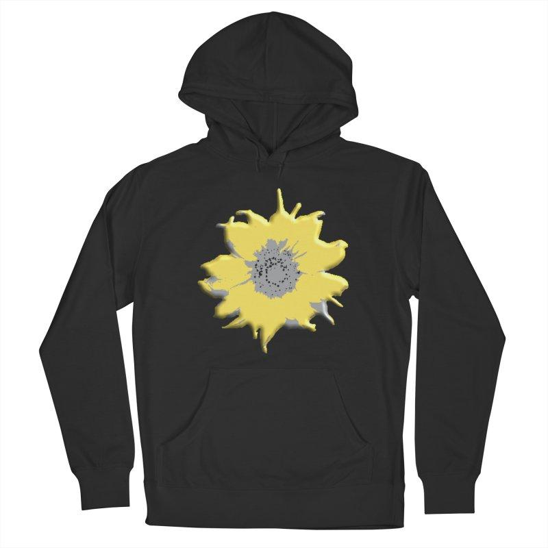 Sunflower Spill Men's Pullover Hoody by C. Cooley's Artist Shop