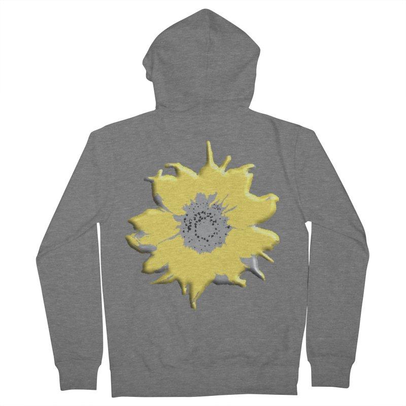 Sunflower Spill Women's Zip-Up Hoody by C. Cooley's Artist Shop