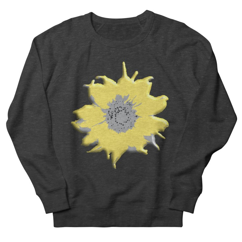 Sunflower Spill Women's Sweatshirt by C. Cooley's Artist Shop