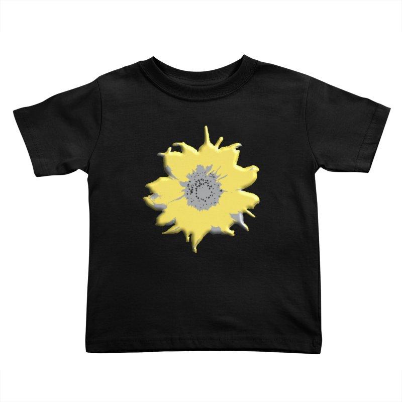 Sunflower Spill Kids Toddler T-Shirt by C. Cooley's Artist Shop