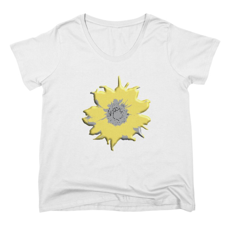 Sunflower Spill Women's Scoop Neck by C. Cooley's Artist Shop