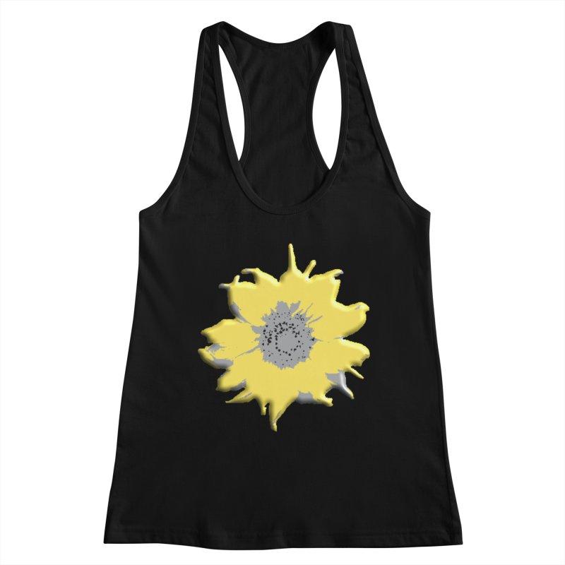 Sunflower Spill Women's Tank by C. Cooley's Artist Shop