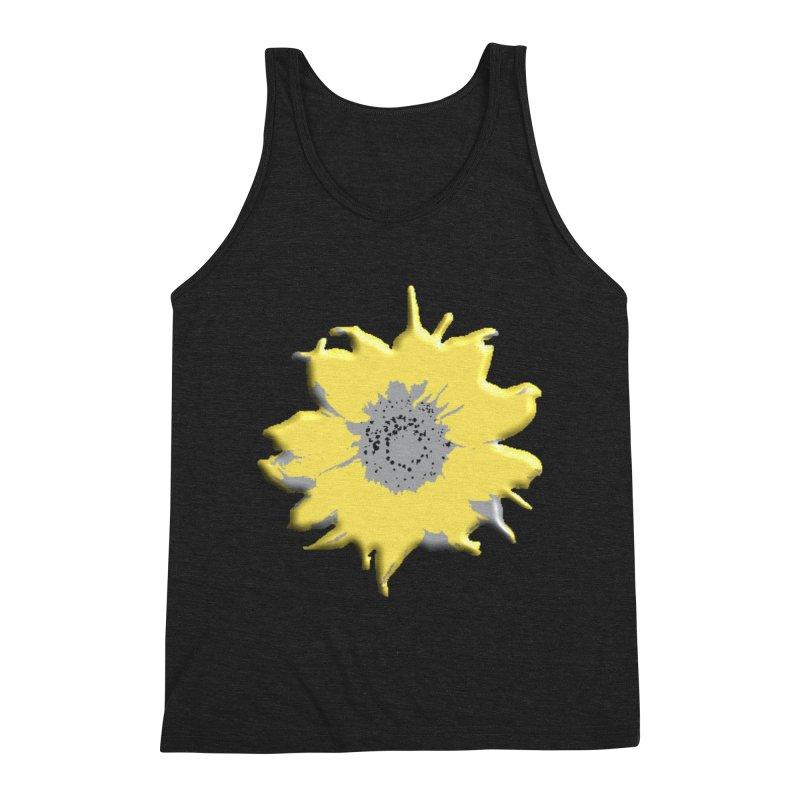 Sunflower Spill Men's Tank by C. Cooley's Artist Shop