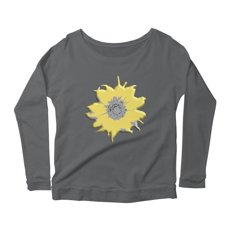 Sunflower Spill Women's Longsleeve T-Shirt by C. Cooley's Artist Shop