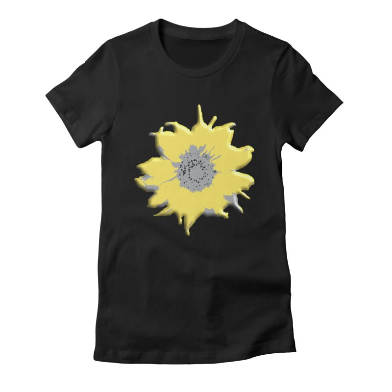 Sunflower Spill Women's T-Shirt by C. Cooley's Artist Shop